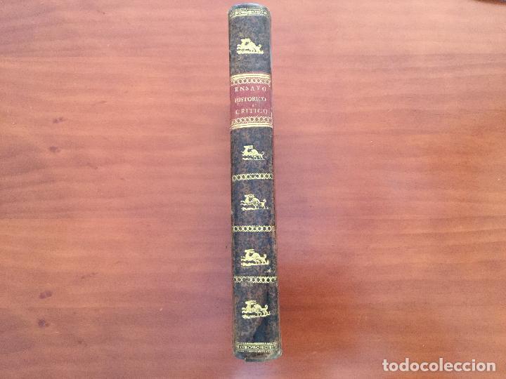 Libros antiguos: Ensayo Histórico-crítico sobre la Antigua legislación y principales cuerpos legal es de los Reynos - Foto 2 - 155128990