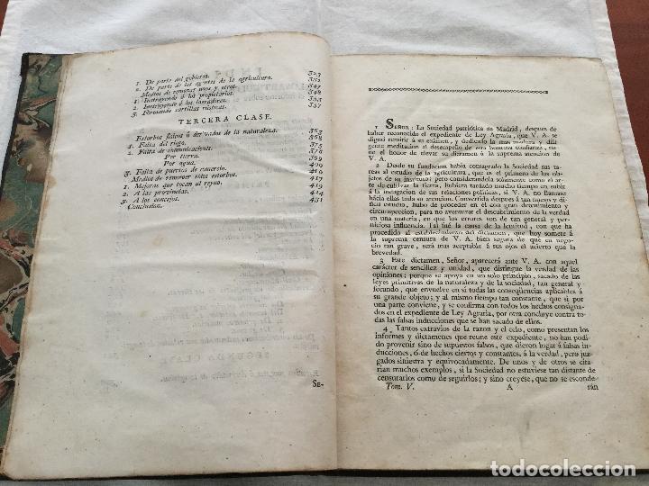 Libros antiguos: Informe de la Sociedad Econòmica de esta Cortés al Real y Supremo Consejo de Castilla en el expedien - Foto 3 - 155132214