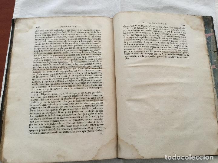 Libros antiguos: Informe de la Sociedad Econòmica de esta Cortés al Real y Supremo Consejo de Castilla en el expedien - Foto 4 - 155132214