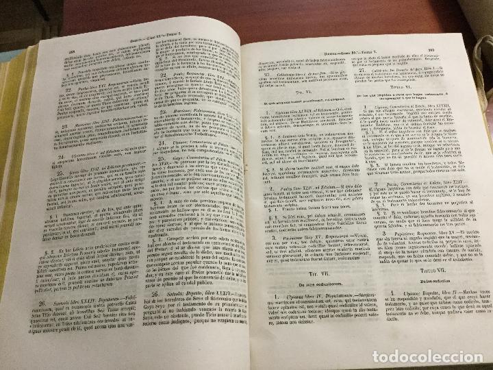 Libros antiguos: El Digesto del Emperador Justiniano - Foto 6 - 155140178