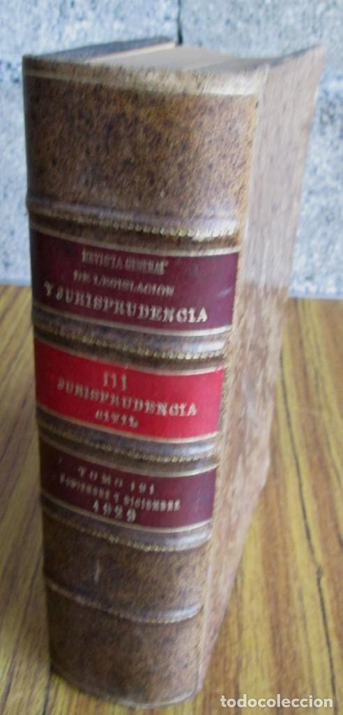 JURISPRUDENCIA CIVIL COLECCIÓN COMPLETA DE LAS SENTENCIAS DICTADAS POR TRIBUNAL SUPREMO 1929 (Libros Antiguos, Raros y Curiosos - Ciencias, Manuales y Oficios - Derecho, Economía y Comercio)