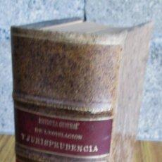 Libros antiguos: JURISPRUDENCIA CIVIL COLECCIÓN COMPLETA DE LAS SENTENCIAS DICTADAS POR TRIBUNAL SUPREMO 1929. Lote 156564518