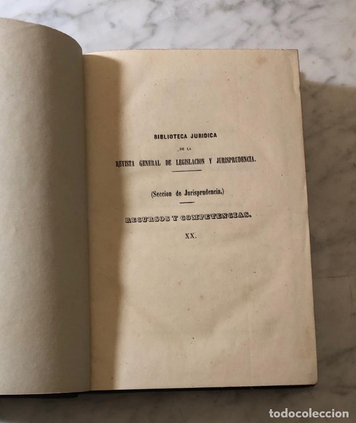 Libros antiguos: Jurisprudencia Civil-colección completa de las sentencias dictadas-TOMO XX-1869(21€) - Foto 2 - 157384714