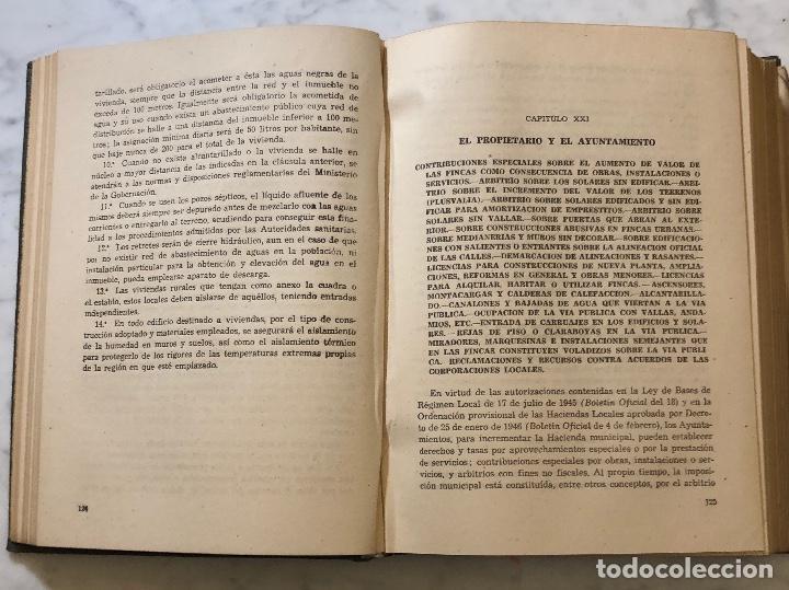 Libros antiguos: TRATADO DE LA PROPIEDAD URBANA(30€) - Foto 3 - 158159410
