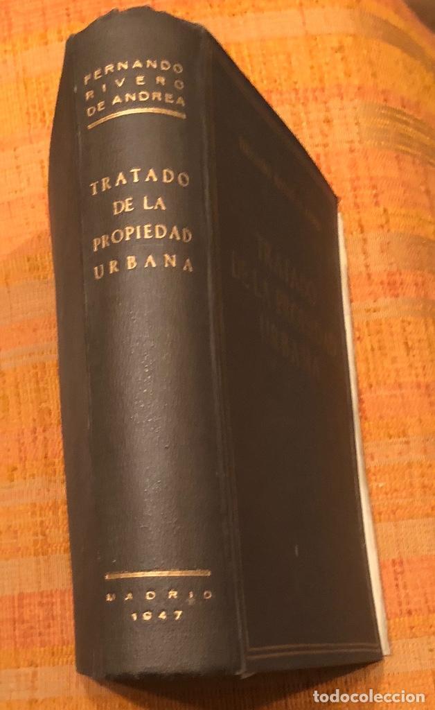 Libros antiguos: TRATADO DE LA PROPIEDAD URBANA(30€) - Foto 4 - 158159410