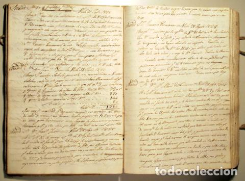 COPIADOR DE CARTAS DEL SR. JAYME BOSCH DE VICH - MANUSCRITO - COMERCIO DE GUARNICIONERÍ - 1825-1845 (Libros Antiguos, Raros y Curiosos - Ciencias, Manuales y Oficios - Derecho, Economía y Comercio)