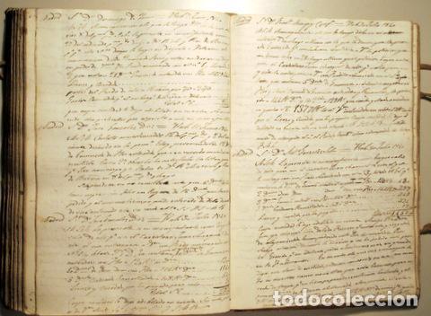 Libros antiguos: COPIADOR DE CARTAS del Sr. Jayme Bosch de Vich - Manuscrito - Comercio de guarnicionerí - 1825-1845 - Foto 5 - 158385877