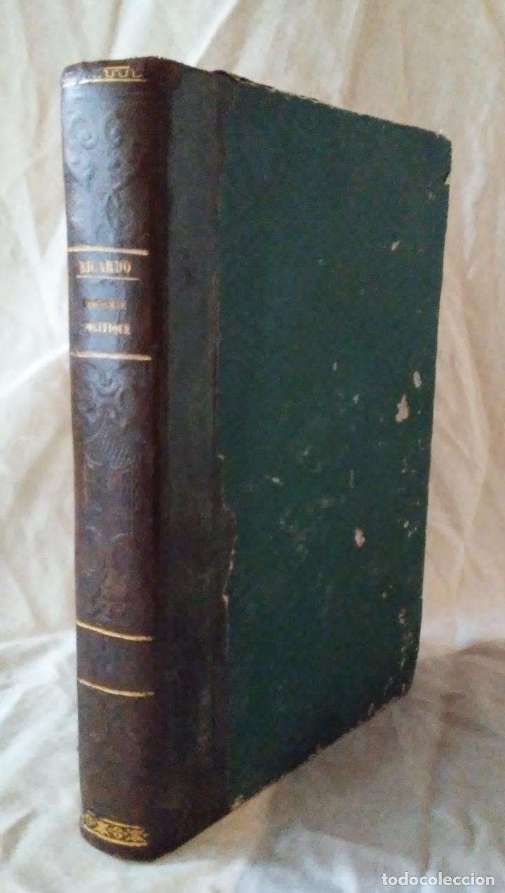 PRINCIPIOS DE ECONOMIA POLITICA - DAVID RICARDO - 2 EDIC AÑO 1835. (Libros Antiguos, Raros y Curiosos - Ciencias, Manuales y Oficios - Derecho, Economía y Comercio)