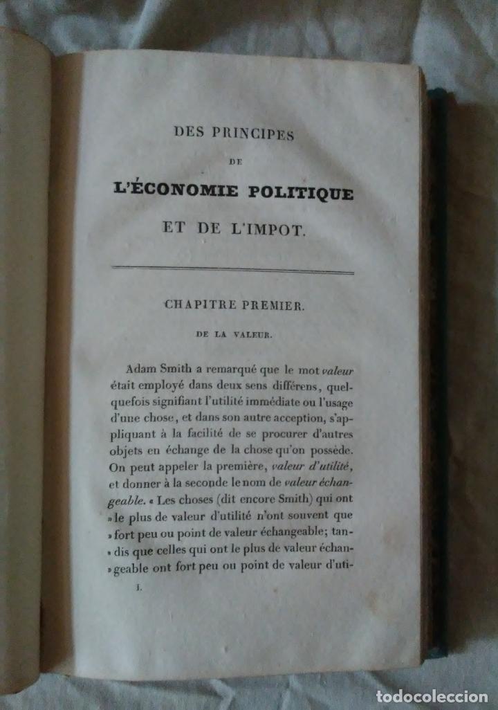Libros antiguos: PRINCIPIOS DE ECONOMIA POLITICA - DAVID RICARDO - 2 EDIC AÑO 1835. - Foto 5 - 159198862