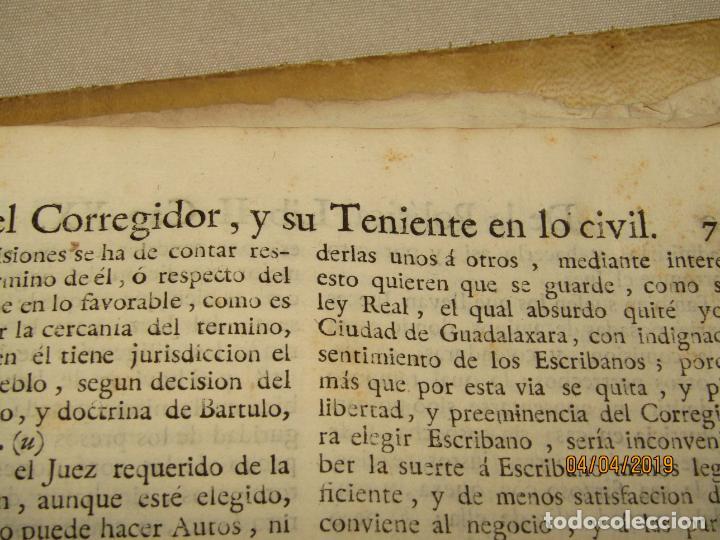Libros antiguos: CASTILLO DE BOVADILLA, POLITICA PARA CORREGIDORES Y SR DE VASALLOS EN TIEMPO DE PAZ Y DE GUERRA,1775 - Foto 9 - 159362878