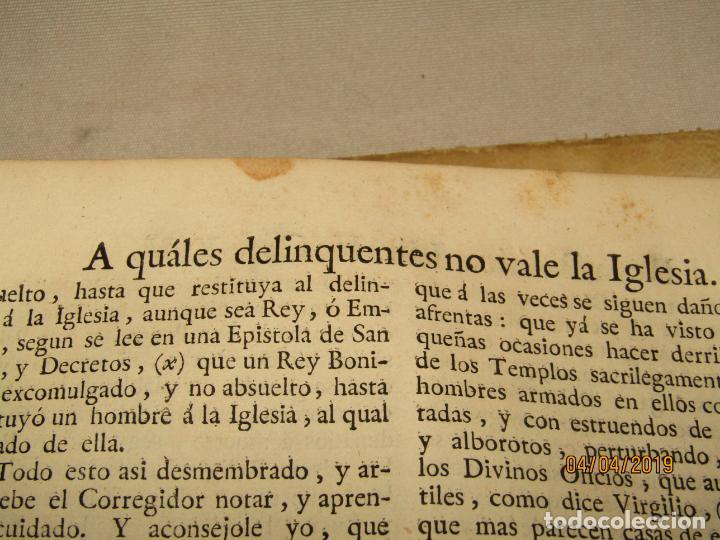 Libros antiguos: CASTILLO DE BOVADILLA, POLITICA PARA CORREGIDORES Y SR DE VASALLOS EN TIEMPO DE PAZ Y DE GUERRA,1775 - Foto 10 - 159362878