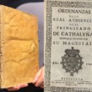 Libros antiguos: 1742 - ORDENANZAS DE LA REAL AUDIENCIA DEL PRINCIPADO DE CATALUÑA - CATALUNYA - DERECHO CATALÁN. Lote 159657234