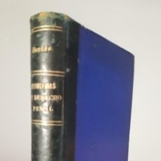Libros antiguos: PROBLEMAS DE DERECHO PENAL- DORADO- 1895. Lote 159777334