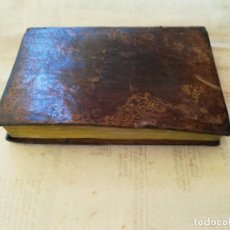 Libros antiguos: LIBRO AÑO 1828,MANUAL DE DELITOS Y PENAS,CASTIGOS A GITANOS,PROSTITUTAS,SODOMIA,BAILES,TOROS,ARMAS. Lote 159781894
