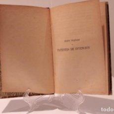 Libros antiguos: NUEVO TRATADO DE PATENTES DE INVENCIÓN (J. PELLA Y FORGAS, 1904). Lote 160006282