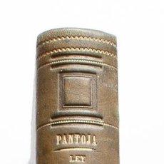 Libros antiguos: LEY HIPOTECARIA COMENTADA Y EXPLICADA. TOMO SEGUNDO. 1862.. Lote 160226278