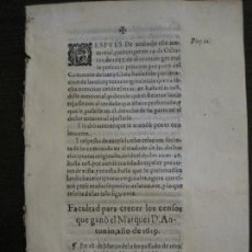 Libros antiguos: PLIEGO-ZAMORA-SIGLO XVIII-VER FOTOS-(V-16.369). Lote 160299478