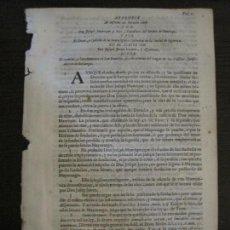 Libros antiguos: PLIEGO-SIGÜENZA-SIGLO XVIII-VER FOTOS-(V-16.374). Lote 160300874