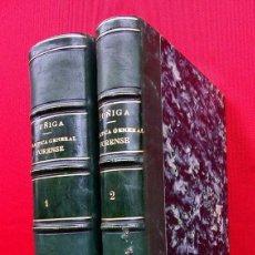 Libros antiguos: PRÁCTICA GENERAL FORENSE. AÑO:1870. MANUEL ORTIZ DE ZUÑIGA. 2 TOMOS. BUEN ESTADO.. Lote 160337358