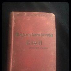 Libros antiguos: LEY DE ENJUICIAMIENTO CIVIL DE 3 DE FEBRERO DE 1881 ... EDITORIAL DE GÓNGORA, . Lote 160469386