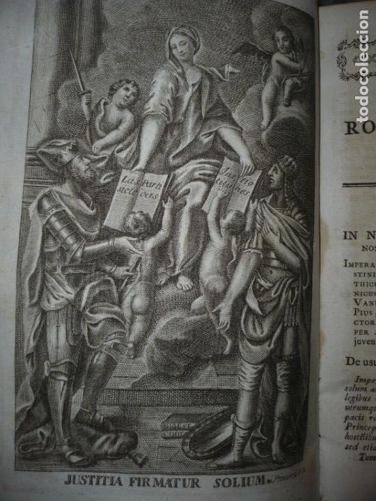 Libros antiguos: JURIS ROMANI HISTORIA -INSTITUTIONES ROMANO-HISPANAE JOANNIS SALA 1895 VALENTIAE - Foto 5 - 160646762