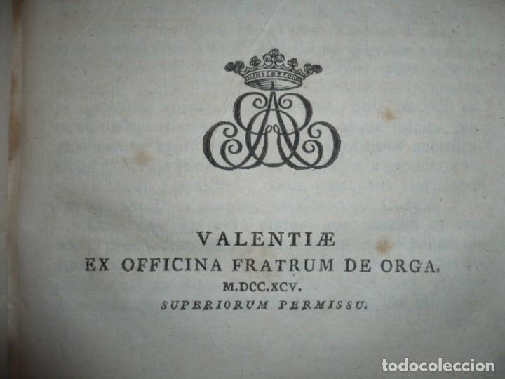 Libros antiguos: JURIS ROMANI HISTORIA -INSTITUTIONES ROMANO-HISPANAE JOANNIS SALA 1895 VALENTIAE - Foto 4 - 160646762