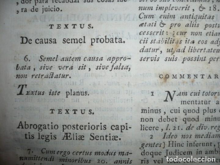 Libros antiguos: JURIS ROMANI HISTORIA -INSTITUTIONES ROMANO-HISPANAE JOANNIS SALA 1895 VALENTIAE - Foto 11 - 160646762