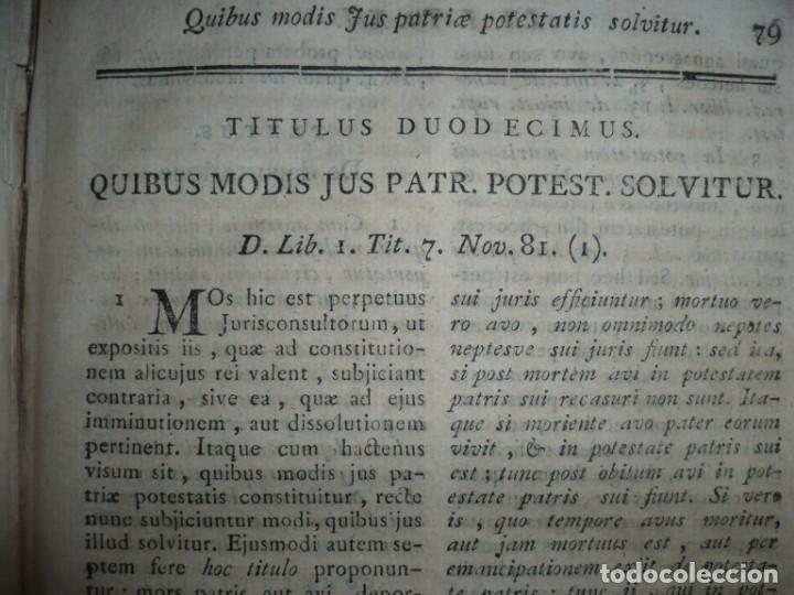 Libros antiguos: JURIS ROMANI HISTORIA -INSTITUTIONES ROMANO-HISPANAE JOANNIS SALA 1895 VALENTIAE - Foto 12 - 160646762