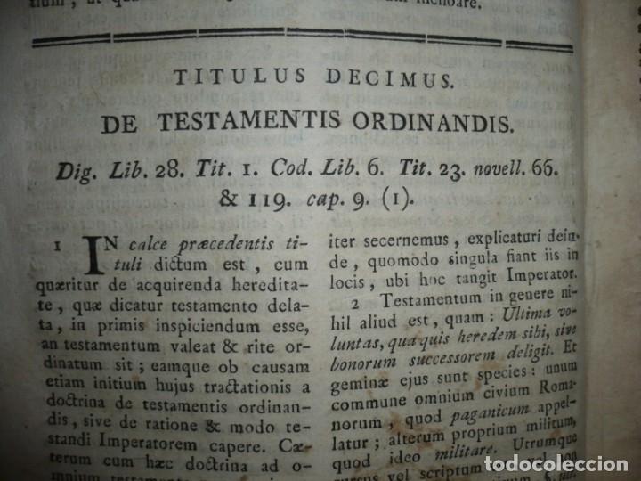 Libros antiguos: JURIS ROMANI HISTORIA -INSTITUTIONES ROMANO-HISPANAE JOANNIS SALA 1895 VALENTIAE - Foto 14 - 160646762