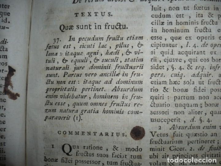 Libros antiguos: JURIS ROMANI HISTORIA -INSTITUTIONES ROMANO-HISPANAE JOANNIS SALA 1895 VALENTIAE - Foto 13 - 160646762