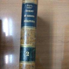 Libros antiguos: CURSO DE ECONOMÍA POLÍTICA. TOMO 2 II - SALVÁ, MELCHOR. Lote 161239762