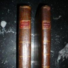 Libros antiguos: INSTITUCIONES DE DERECHO ECLESIASTICO CARLOS SEBASTIAN BERARDI 1791 MADRID TOMOS I--II. Lote 161422554