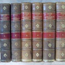 Libri antichi: LEY DE ENJUICIAMIENTO CRIMINAL 6 TOMOS 1912 (LOMO CUERO) ENRIQUE AGUILERA DE PAZ. Lote 161496858