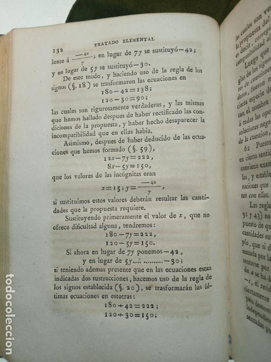 Libros antiguos: CURSO COMPLETO ELEMENTAL DE MATEMÁTICAS PURAS - TOMO II - ALGEBRA - MADRID - 1840 - - Foto 6 - 161913690