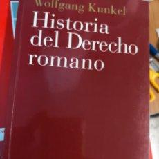 Libros antiguos: HISTORIA DEL DERECHO ROMANO. ARIEL DERECHO 240 PAGINAS AÑO 2003. Lote 161954794