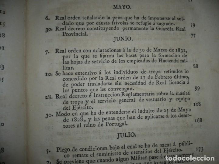 Libros antiguos: DECRETOS DEL REY DON FERNANDO VII Y LA REINA JOSEF MARIA DE NIEVA 1833 MADRID TOMO. 17 - Foto 6 - 162122794