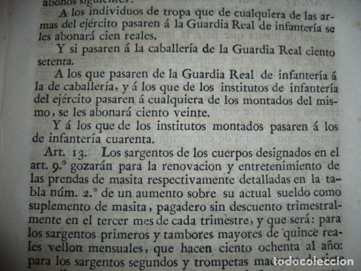 Libros antiguos: DECRETOS DEL REY DON FERNANDO VII Y LA REINA JOSEF MARIA DE NIEVA 1833 MADRID TOMO. 17 - Foto 7 - 162122794