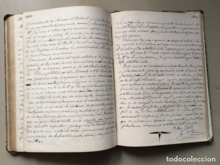 Libros antiguos: 1866. UNIVERSIDAD LITERARIA DE VALLADOLID. EXPLICACIONES DERECHO PENAL. MANUSCRITO 1866 - Foto 3 - 162445658