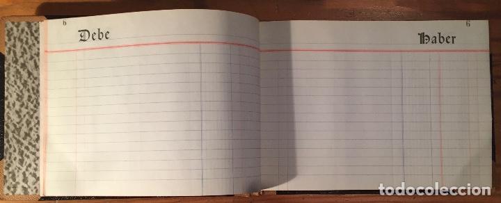 Libros antiguos: Cuaderno Contabilidad Antiguo DEBE-HABER(17€) - Foto 2 - 163080106