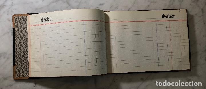 Libros antiguos: Cuaderno Contabilidad Antiguo DEBE-HABER(17€) - Foto 3 - 163080106