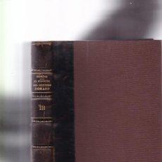 Livros antigos: EL ESPIRITU DEL DERECHO ROMANO - R. VON IHERING - TOMO III - BAILLY-BAILLIERE ED. 1920. Lote 164794210