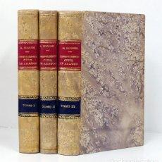 Livres anciens: RIPOLLÉS Y BARANDA (MARIANO).– JURISPRUDENCIA CIVIL DE ARAGÓN [EN 3 TOMOS] IMPRENTA DE ARIÑO, 1897. Lote 164996378