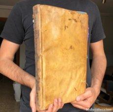 Libros antiguos: 1729 TALAVERA DE LA REINA - GOMEZ - DERECHO CANÓNICO - PERGAMINO - FOLIO . Lote 165395482