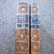 Libros antiguos: EL DERECHO DE GENTES O PRINCIPIOS DE LA LEY NATURAL -- TOMO 1 Y 2 - VATELL -- MADRID 1834 --. Lote 165450098