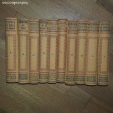 Libros antiguos: LA NUEVA TECNICA DE LOS NEGOCIOS. COMPLETA. 10 VOLUMENES. EDITORIAL LABOR. 1934. Lote 165538150
