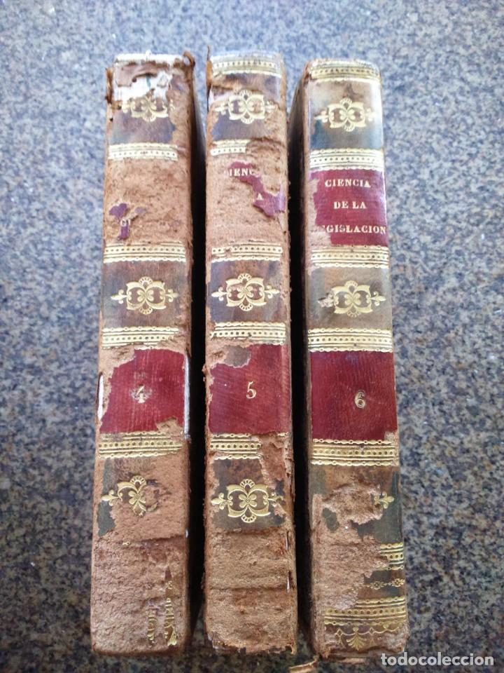 Libros antiguos: CIENCIA DE LA LEGISLACION POR EL CABALLERO CAYETANO FILANGIERI - TOMO 4 / 5 / 6 -- 1823 -- 2ª EDICI - Foto 5 - 165655026