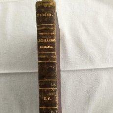 Libros antiguos: HISTORIA DE LA LEGISLACION ROMANA.. Lote 165844854