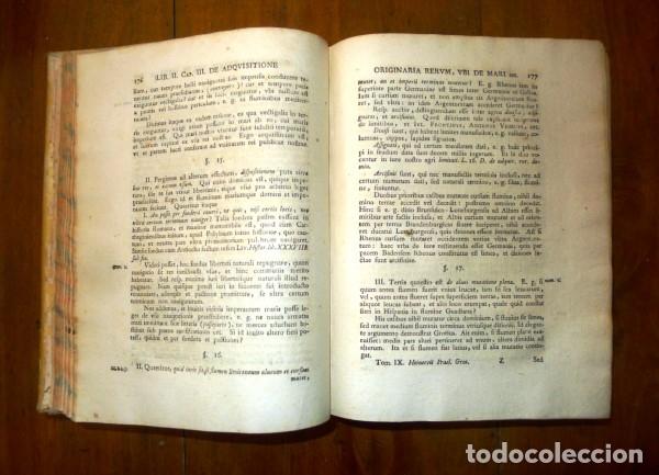 Libros antiguos: HEINECCIUS, Iohann Gottlieb. Opera Omnia. - Genevae : Sumptibus Fratrum de Tournes, 1765-1771 - Foto 12 - 168048040