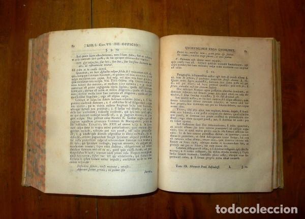Libros antiguos: HEINECCIUS, Iohann Gottlieb. Opera Omnia. - Genevae : Sumptibus Fratrum de Tournes, 1765-1771 - Foto 14 - 168048040
