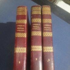 Libros antiguos: 1848-1849 EL CÓDIGO PENAL CONCORDADO Y COMENTADO POR D. JOAQUIN FRANCISCO PACHECO, SANTIAGO SAUNAQUE. Lote 168367184